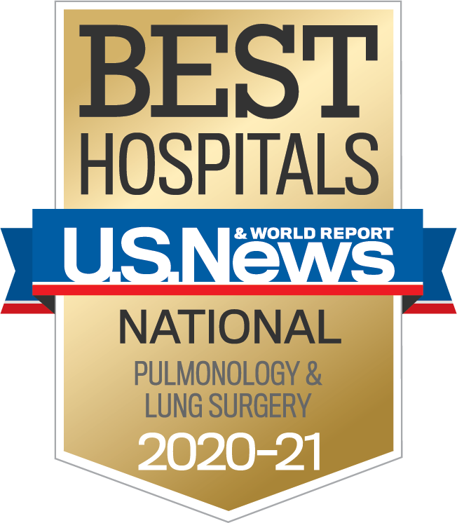 Specialty Rankings: Pulmonology & Lung Surgery