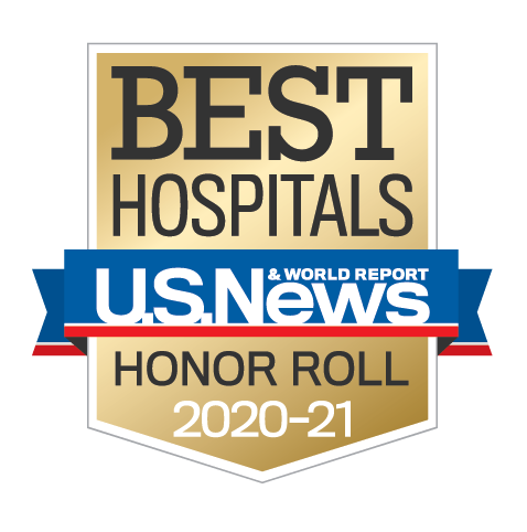 U.S. News & World Report Best Hospitals Honor Roll 2020-21